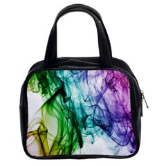 Colour Smoke Rainbow Color Design Classic Handbags (2 Sides) by Amaryn4rt