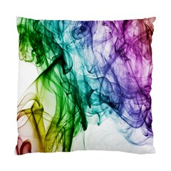 Colour Smoke Rainbow Color Design Standard Cushion Case (Two Sides)