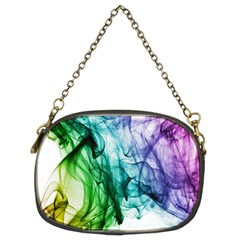 Colour Smoke Rainbow Color Design Chain Purses (Two Sides)