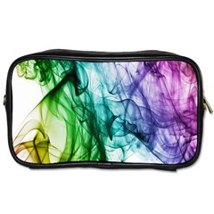 Colour Smoke Rainbow Color Design Toiletries Bags 2-Side