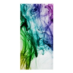 Colour Smoke Rainbow Color Design Shower Curtain 36  x 72  (Stall)