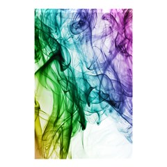 Colour Smoke Rainbow Color Design Shower Curtain 48  x 72  (Small)