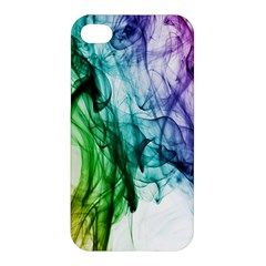 Colour Smoke Rainbow Color Design Apple iPhone 4/4S Hardshell Case