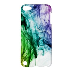 Colour Smoke Rainbow Color Design Apple Ipod Touch 5 Hardshell Case by Amaryn4rt