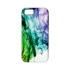 Colour Smoke Rainbow Color Design Apple iPhone 5 Classic Hardshell Case (PC+Silicone)