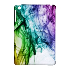 Colour Smoke Rainbow Color Design Apple iPad Mini Hardshell Case (Compatible with Smart Cover)