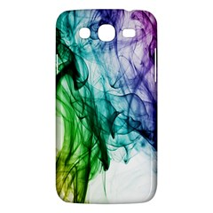 Colour Smoke Rainbow Color Design Samsung Galaxy Mega 5 8 I9152 Hardshell Case  by Amaryn4rt