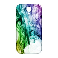 Colour Smoke Rainbow Color Design Samsung Galaxy S4 I9500/i9505  Hardshell Back Case by Amaryn4rt