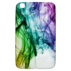Colour Smoke Rainbow Color Design Samsung Galaxy Tab 3 (8 ) T3100 Hardshell Case