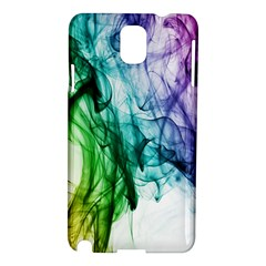 Colour Smoke Rainbow Color Design Samsung Galaxy Note 3 N9005 Hardshell Case