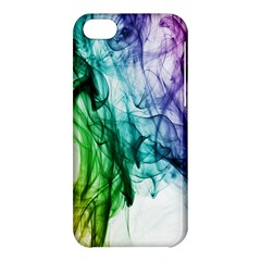 Colour Smoke Rainbow Color Design Apple iPhone 5C Hardshell Case