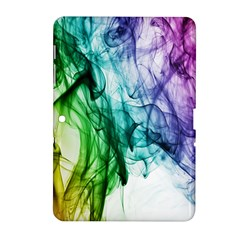 Colour Smoke Rainbow Color Design Samsung Galaxy Tab 2 (10.1 ) P5100 Hardshell Case