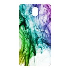 Colour Smoke Rainbow Color Design Samsung Galaxy Note 3 N9005 Hardshell Back Case