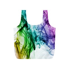 Colour Smoke Rainbow Color Design Full Print Recycle Bags (s)  by Amaryn4rt