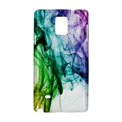 Colour Smoke Rainbow Color Design Samsung Galaxy Note 4 Hardshell Case