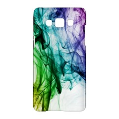 Colour Smoke Rainbow Color Design Samsung Galaxy A5 Hardshell Case  by Amaryn4rt