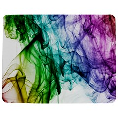 Colour Smoke Rainbow Color Design Jigsaw Puzzle Photo Stand (Rectangular)