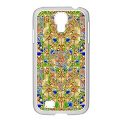 Lizard And A Skull Samsung Galaxy S4 I9500/ I9505 Case (white) by pepitasart