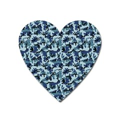 Navy Camouflage Heart Magnet by sifis