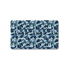 Navy Camouflage Magnet (name Card) by sifis