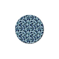 Navy Camouflage Golf Ball Marker (10 Pack) by sifis