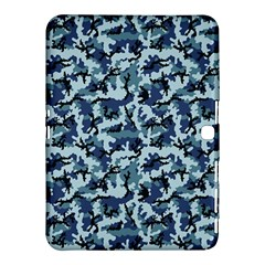 Navy Camouflage Samsung Galaxy Tab 4 (10 1 ) Hardshell Case  by sifis