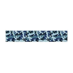 Navy Camouflage Flano Scarf (mini) by sifis