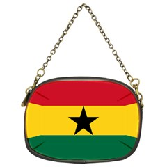 Flag Of Ghana Chain Purses (two Sides)  by abbeyz71