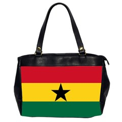 Flag Of Ghana Office Handbags (2 Sides)  by abbeyz71