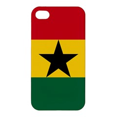 Flag Of Ghana Apple Iphone 4/4s Hardshell Case