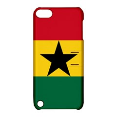 Flag Of Ghana Apple Ipod Touch 5 Hardshell Case With Stand by abbeyz71