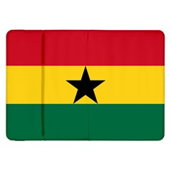 Flag Of Ghana Samsung Galaxy Tab 8 9  P7300 Flip Case by abbeyz71