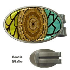 Kaleidoscope Dream Illusion Money Clips (oval)