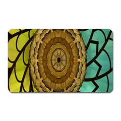 Kaleidoscope Dream Illusion Magnet (rectangular) by Amaryn4rt