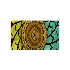 Kaleidoscope Dream Illusion Magnet (name Card) by Amaryn4rt