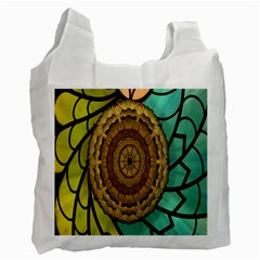 Kaleidoscope Dream Illusion Recycle Bag (one Side) by Amaryn4rt