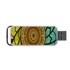 Kaleidoscope Dream Illusion Portable Usb Flash (two Sides)