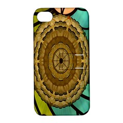 Kaleidoscope Dream Illusion Apple Iphone 4/4s Hardshell Case With Stand by Amaryn4rt