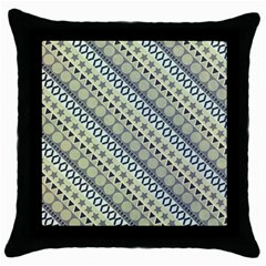Abstract Seamless Pattern Throw Pillow Case (black) by Amaryn4rt