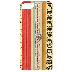 Digitally Created Collage Pattern Made Up Of Patterned Stripes Apple Iphone 5 Classic Hardshell Case