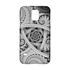 Fractal Wallpaper Black N White Chaos Samsung Galaxy S5 Hardshell Case  by Amaryn4rt