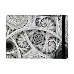 Fractal Wallpaper Black N White Chaos Ipad Mini 2 Flip Cases