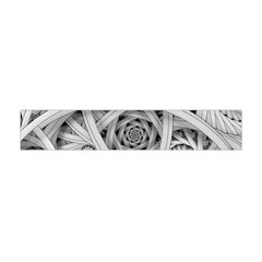 Fractal Wallpaper Black N White Chaos Flano Scarf (mini)