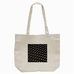 Abstract Of Metal Plate With Lines Tote Bag (cream) by Amaryn4rt