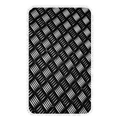 Abstract Of Metal Plate With Lines Memory Card Reader by Amaryn4rt
