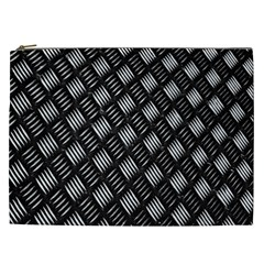 Abstract Of Metal Plate With Lines Cosmetic Bag (xxl)  by Amaryn4rt
