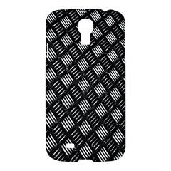 Abstract Of Metal Plate With Lines Samsung Galaxy S4 I9500/i9505 Hardshell Case by Amaryn4rt