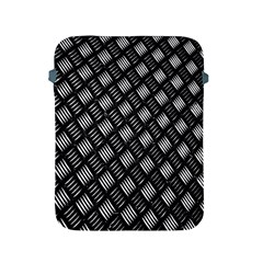 Abstract Of Metal Plate With Lines Apple Ipad 2/3/4 Protective Soft Cases