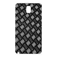 Abstract Of Metal Plate With Lines Samsung Galaxy Note 3 N9005 Hardshell Back Case