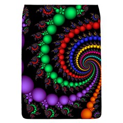 Fractal Background With High Quality Spiral Of Balls On Black Flap Covers (s)